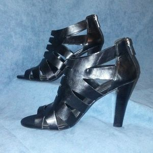 Jessica Simpson Strappy Caged High Heels
